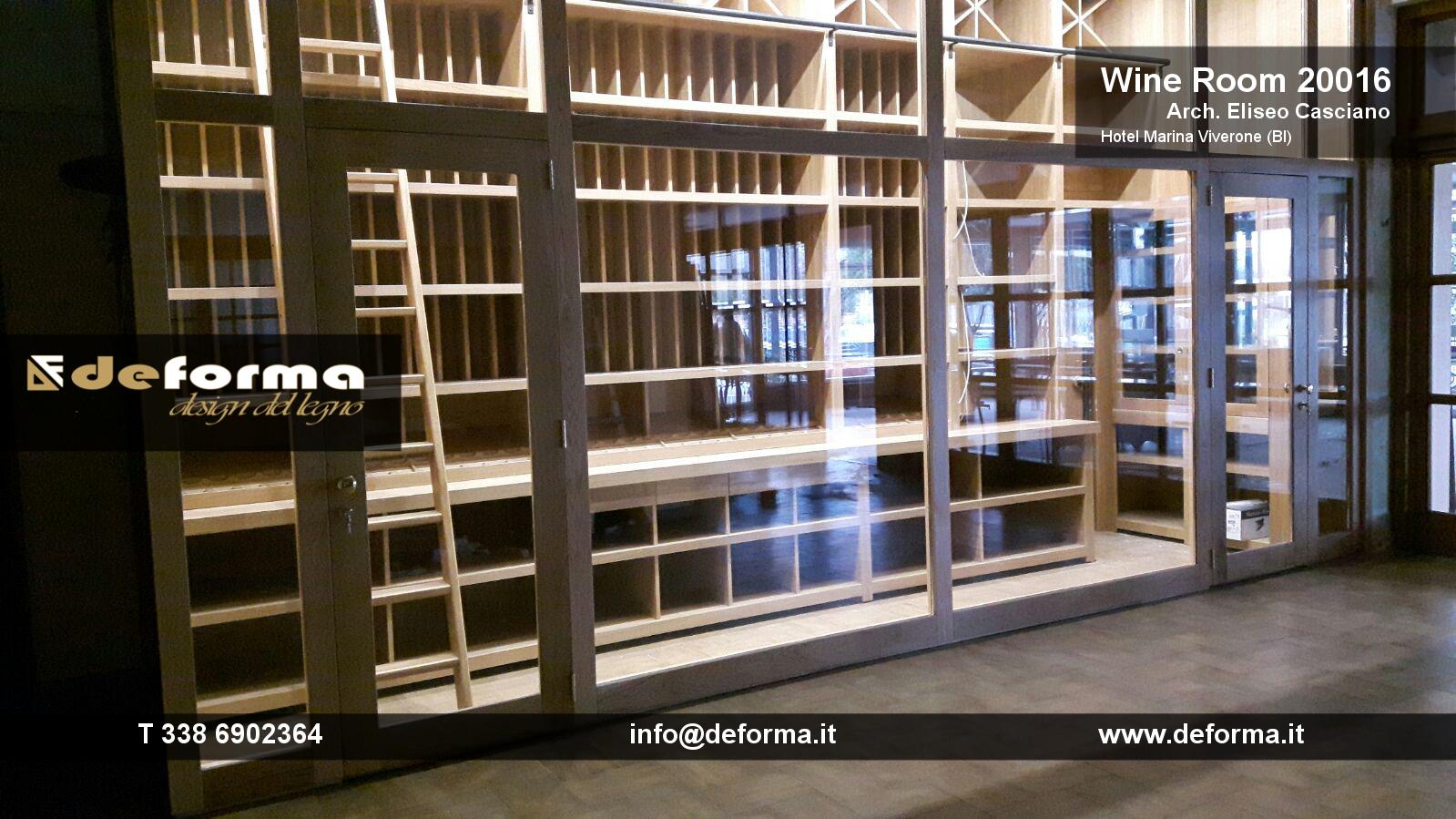 Arredo sala degustazione vini progettazione e for Arredamento enoteca wine bar