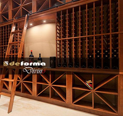 Arredo sala degustazione vini progettazione e - Mobili per cantine ...